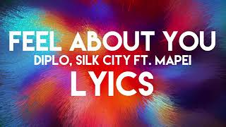 Diplo,Slick City Ft. Mapei- Feel about you (Lyrics video)