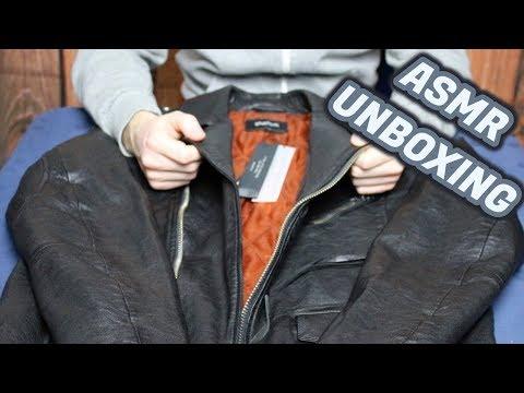 ASMR - Tigha Lederjacke Unboxing #3 (German/Deutsch)