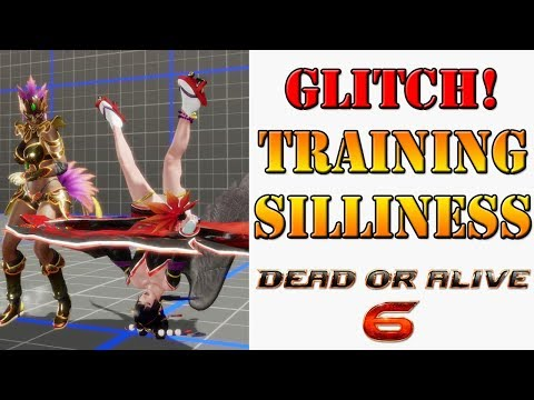 Dead or Alive 6 - Training mode glitch leads to hilarious situations