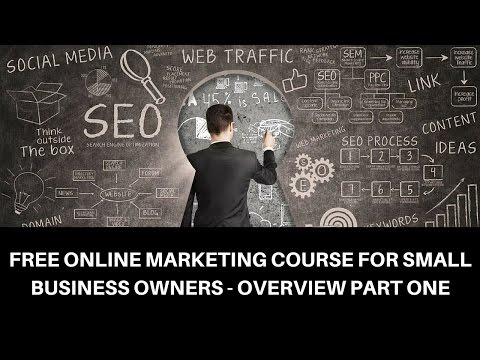 Free Internet Marketing Course Part 1- Marketing Components 4 Small Business Owners