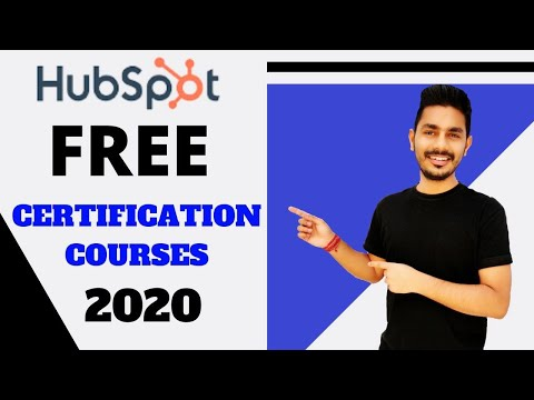 Hubspot Free Certification Courses! All Courses like SEO ... - YouTube