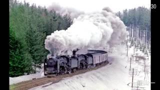 上荻野模型鉄道8 実車スライドショウ 1969北国にSLを追う (C62ニセコ、花輪線8620、D52、C55、D61、D51、C61、9600)