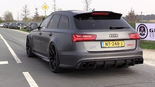 705HP Audi RS6+ ABT - Acceleration SOUNDS & Drag Racing!