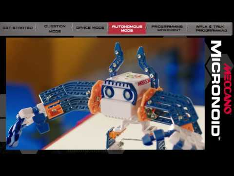 Youtube Video for Micronoid Robot - Meccano