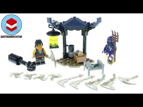 Vidéo LEGO Ninjago 71733 : Set de bataille épique - Cole contre le guerrier fantôme