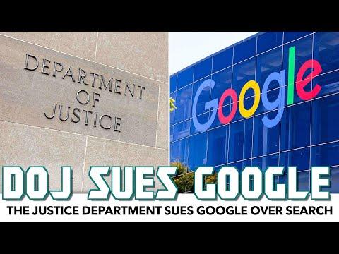 The Justice Department Sues Google