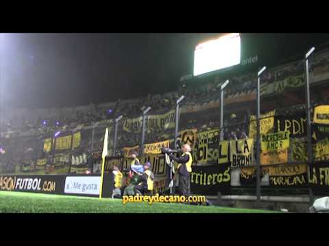 """""""""""Perdimos la Libertadores pero yo te quiero igual"""" - Hinchada Peñarol"""" Barra: Barra Amsterdam • Club: Peñarol"""