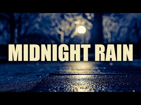 """""""Midnight Rain""""  3 Hours Rain and Smooth Jazz  Best Relaxing Smooth Saxophone Relax Music"""