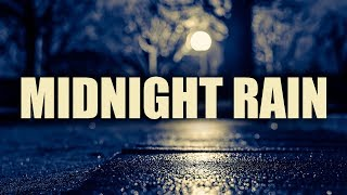 """Midnight Rain"" • 3 Hours Rain and Smooth Jazz • Best Relaxing Smooth Saxophone Relax Music"