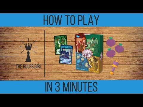 How to Play Village Pillage in 3 Minutes - The Rules Girl