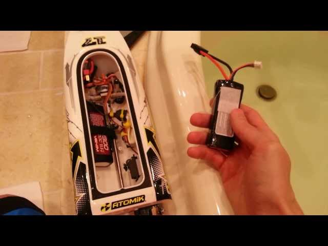 Atomik Barbwire Boat (Review 2) with blooper