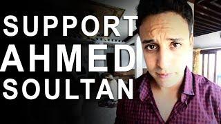 SUPPORTEZ AHMED SOULTAN, SUPPORTEZ L'ART MAROCAIN - MTV EMA 2013