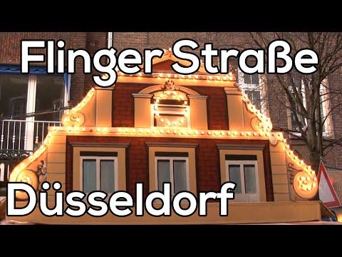 Flinger strasse Dusseldorf Kerstmarkten