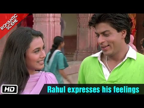 Rahul Expresses His Feelings Romantic Scene Kuch Kuch Hota Hai