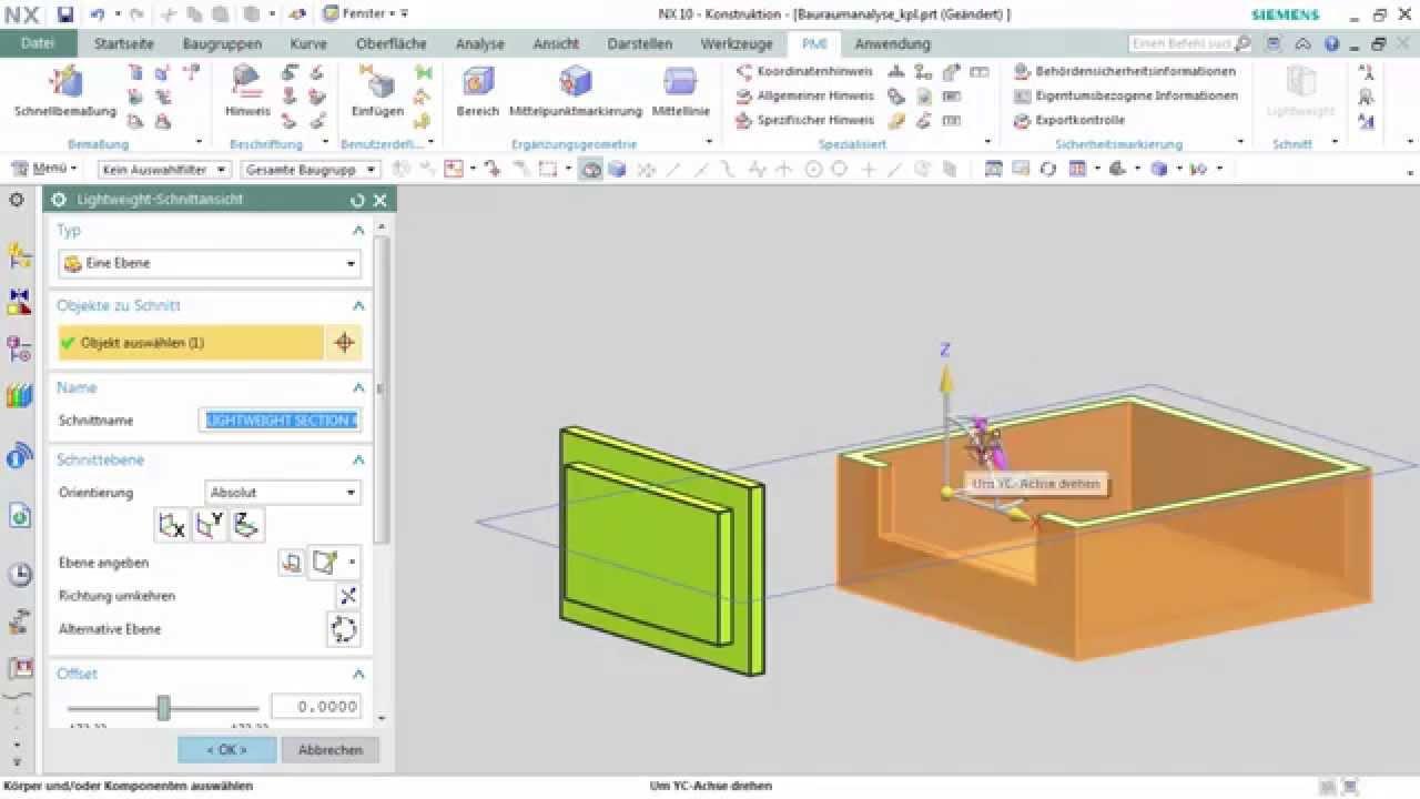 Vorschaubild: NX Tutorial: Bauraumanalyse