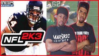 SHOULDN'T HAVE BEEN TALKING CRAP!! - NFL 2K3 Gameplay   #ThrowbackThursday