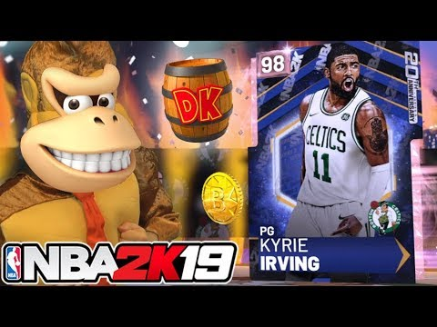 I turned into Donkey Kong for Kyrie Irving! NBA 2K19