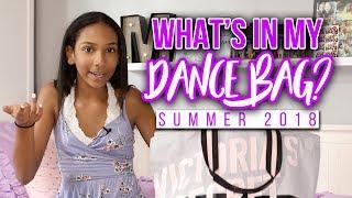 Whats In My Dance Bag? Summer 2018 | Morgan Jean