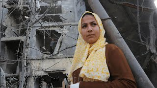 video: 'I will live in a tent on top of my home': As Israel's bombs stop falling, Gazans count the cost
