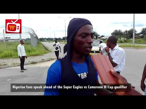 [Watch] Uyo Fans on Nigeria vs Cameroon W/Cup Qualifiers 2018