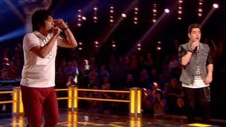 The Voice UK 2013 | Karl Michael Vs Nadeem Leigh: Battle Performance - Battle Rounds 3 - BBC One
