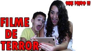 FILME DE TERROR  REAÇÃO - que medo !!!