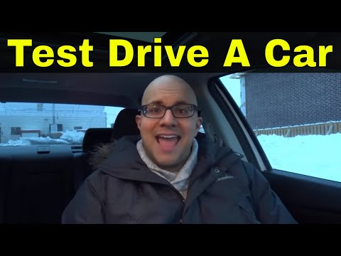How To Test Drive A New Car Alone At A Dealership