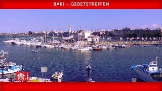 Papst Franziskus -Bari - Gebetstreffen