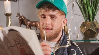Jake Paul Reads a Poem To Floyd Mayweather
