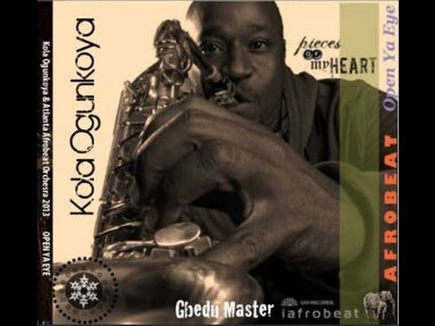 i a f r o b e a t. OPEN YA EYE by Kola Ogunkoya & Atlanta Afrobeat Orchestra.