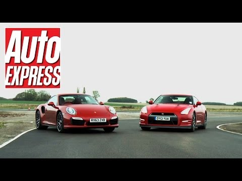 Porsche 911 Turbo S Vs Nissan GT-R review - Auto Express