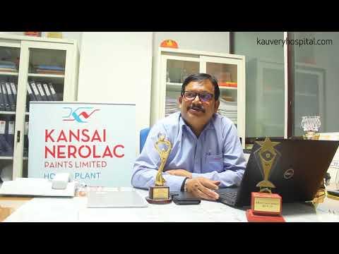 Kansai Nerolac Paints Ltd. trusts Kauvery Hospital...