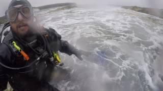 St Brides Bay July 2017 dive gone wrong!