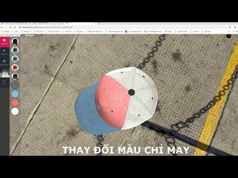 Thiết kế nón vải 3D