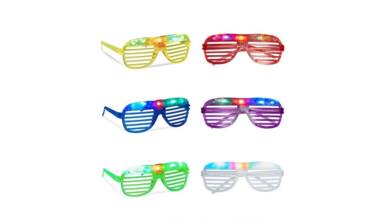 Video von: Partybrille LED