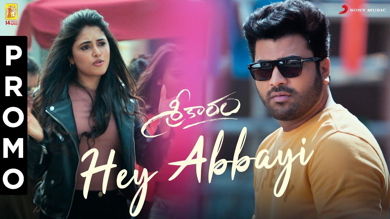 Sreekaram - Hey Abbayi Song Promo