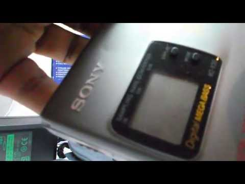 SONY MZ-R30 MINI DISC WALKMAN PORTABLE MINI DISC RECORDER