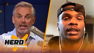 Packers WR Marquez Valdes-Scantling on playing with Aaron Rodgers & Davante Adams | NFL | THE HERD