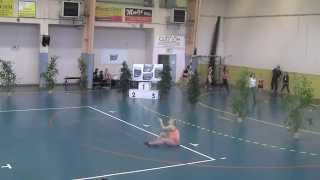 preview picture of video 'Twirling Bâton - Le Grand Lemps - Demi-finale N2 Lucie Draguignan 17.05.2014'