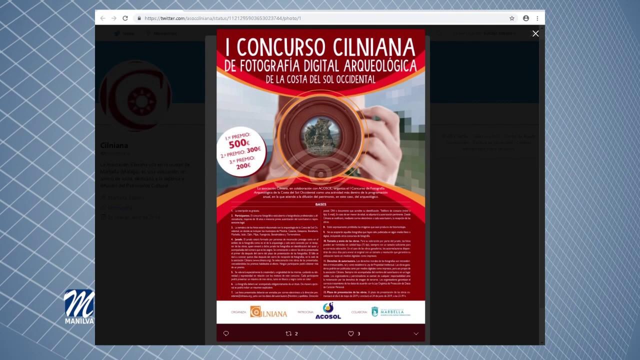 ABIERTO EL PLAZO DE PRESENTACIÓN DEL CONCURSO CILNIANA DE FOTOGRAFÍA DIGITAL ARQUEOLÓGICA