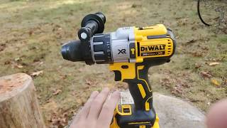 Dewalt hammer drill dcd996 extreme tool test