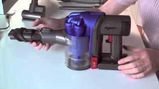 Dyson DC34 Akkusauger Test Video