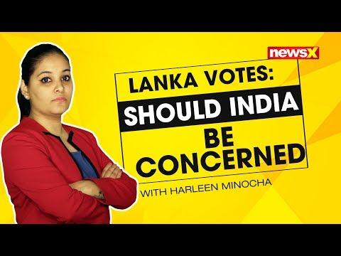 Lanka votes: should India be concerned | NewsX