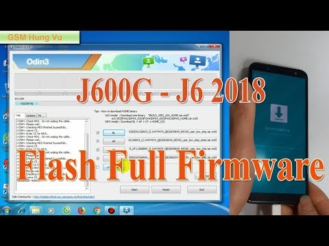 Flash Samsung Galaxy J6 2018 Stock Rom fix odin fail j600f j600g