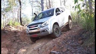 Modified Isuzu MU-X Rock Crawling @ Glasshouse Mountains Forestry