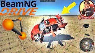 Araba Parçalama Simulator | BeamNG Drive Türkçe | İlk İzlenim
