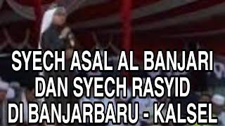 Pembaca'an Kalam Ilahi Oleh Syekh Rasyid & Syekh Asal Al Banjari Di Acara Tabligh Akbar Banjarbaru