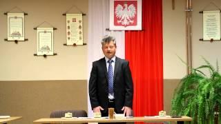 I sesja Rady Gminy Chorkówka kadencji 2014/2018