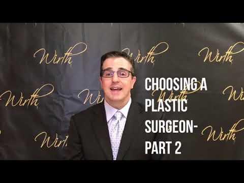 Choosing Your Plastic Surgeon, Part 2 video