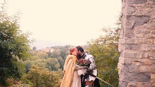 Andrea + Chiara   Medieval Wedding Trailer